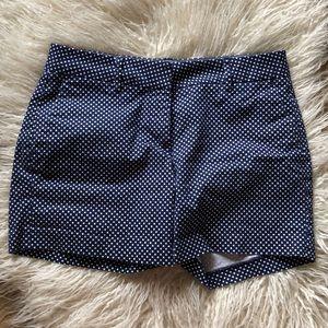 Nautica blue polka dot shorts